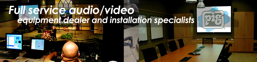 Audio & Video Sales and Installation Specialists!