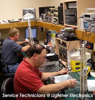 Lightner Electricians at the facilties in Pennsylvainia
